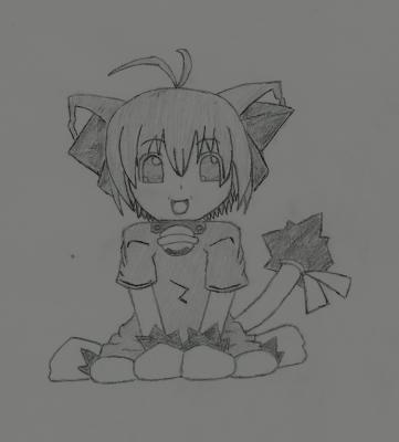 Manga fille chat dessins mangas - Fille manga chat ...