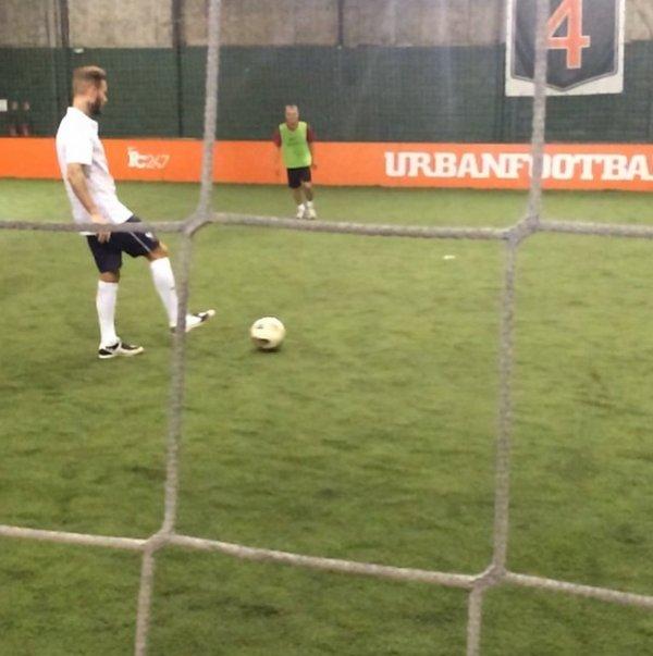 # Matt & le foot <3