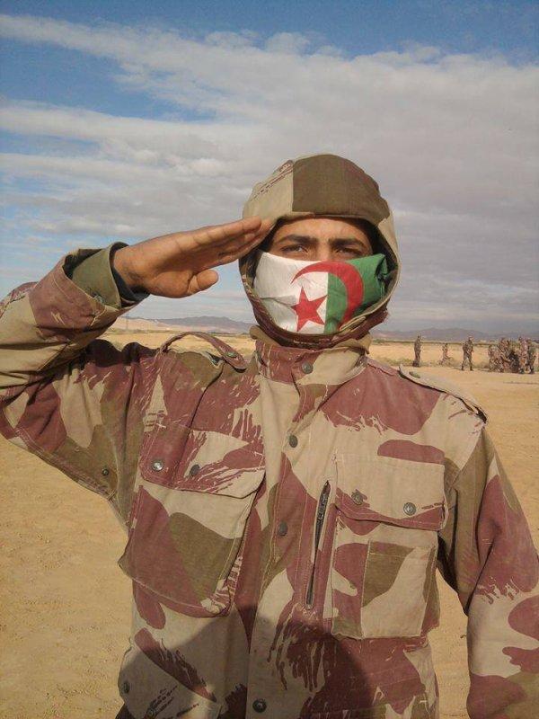 sergent chef abderrahmane el para vive l'Algérie libre et indépendante.