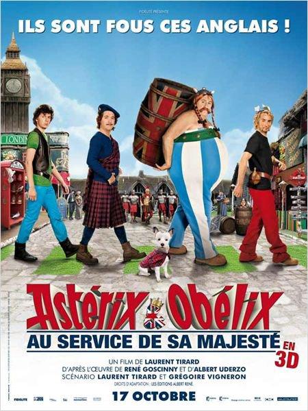 Asterix et Obelix aux service de Sa Majesté