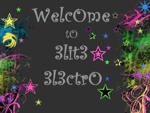 La Team electrO de grande-synthe!!!