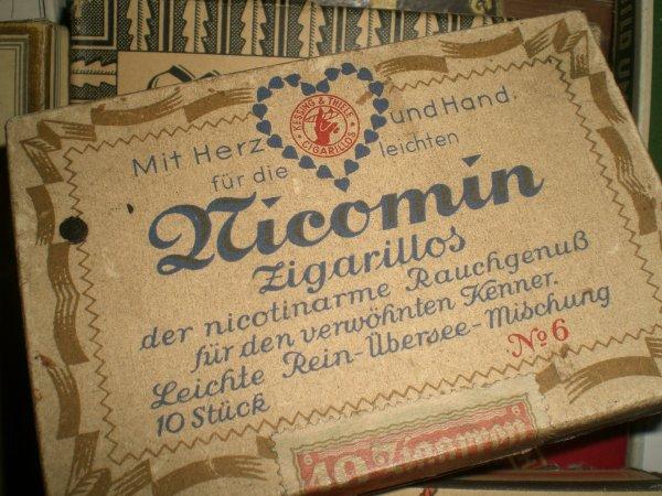 Grosse rentrée de boîtes de cigares allemand WW2
