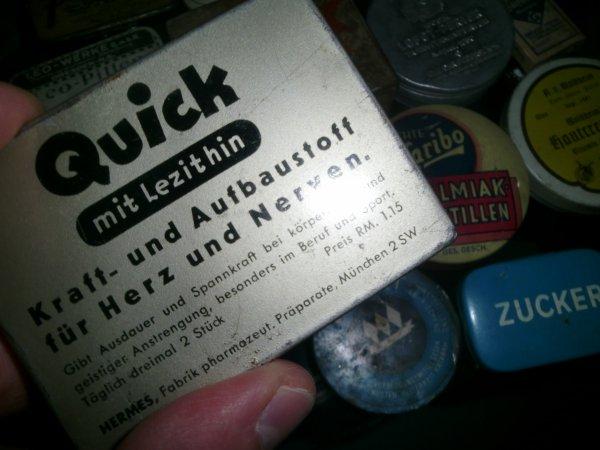 Boîte de médicaments all WW2