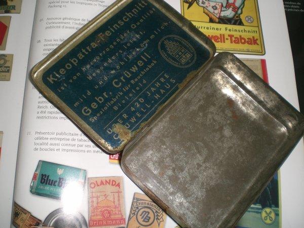 boîte de cigarettes allemandes mekka!!!