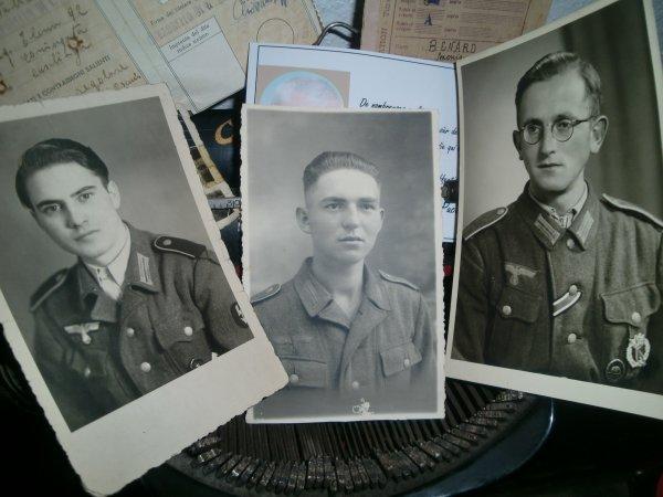 Lot de photos de soldats allemands type portrait!!!