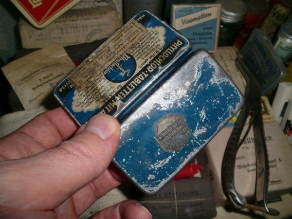 Boîte de pastilles allemandes années 30-40...