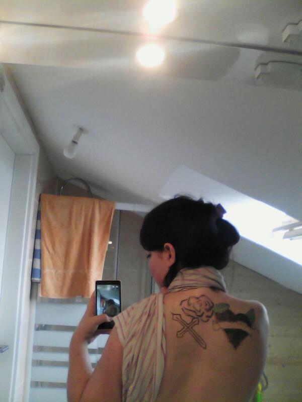 mon nouveau tatouage