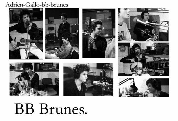 BB Brunes a la radio .