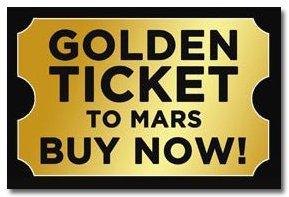 Mars Theme Night + Shop + Golden Tickets