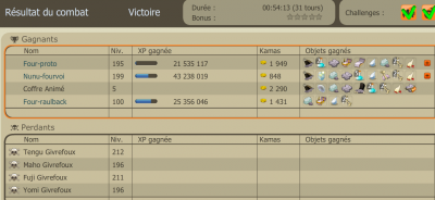 Qui dit farm, dit xp