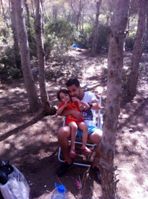 Moi et ma nièce que j aime..