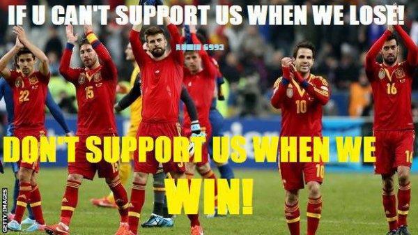 #Furia Roja.    Finale : Espagne - Brésil/Coupe des Confédérations.