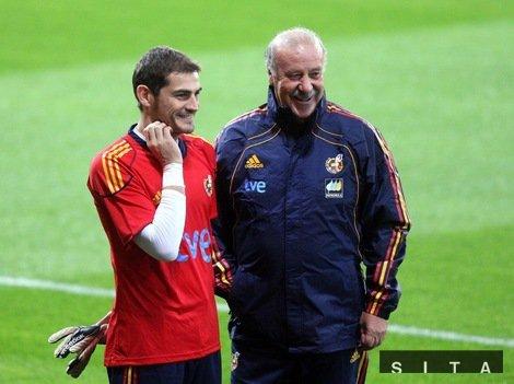 La place d'Iker Casillas au sein de la sélection est assurée.