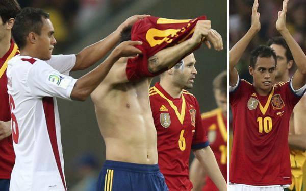 #Furia Roja.    Espagne - Tahiti/Coupe des Confédérations.