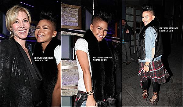 """. 19/02/2012 - Cassie a été vu a la fête organisé pour """"King Of Hearts"""" au SL. Top ou Flop ? ."""