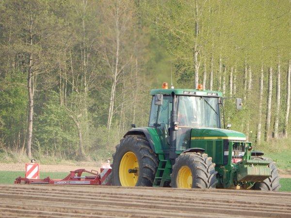 Plantation de pommes de terres - Chantier N°4