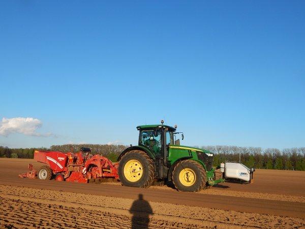 Plantation de pommes de terres - Chantier N°5