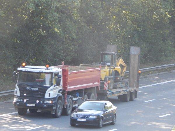 Scania+Ajk et porte-engins