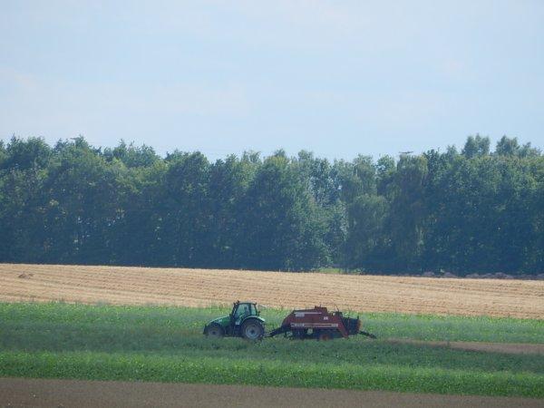 Deutz-Fahr Agrotron+Hesston