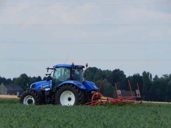 New Holland T6.175+Kuhn GF 5202