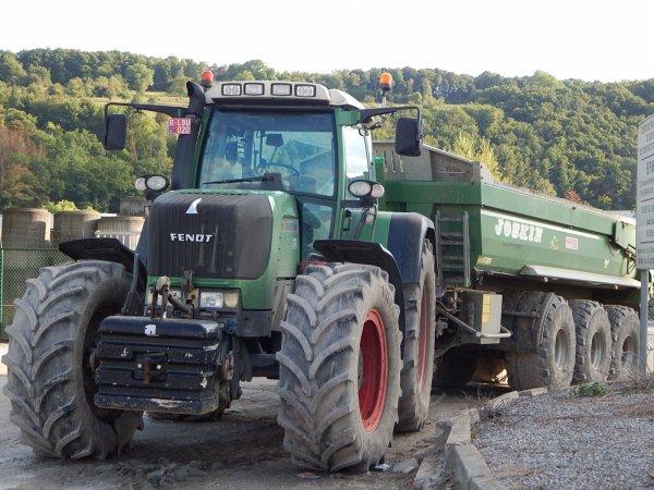 Fendt 924 Vario TMS+Joskin Trans-KTP