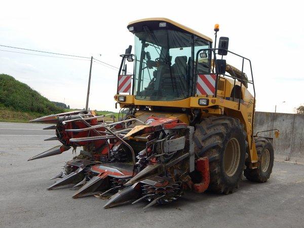 New Holland FX 38 - John Deere 7720+Brimont - John Deere 7810+Maupu