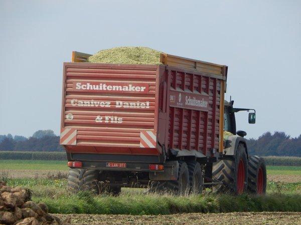 Fendt 920 Vario TMS+Schuitemaker Siwa 720