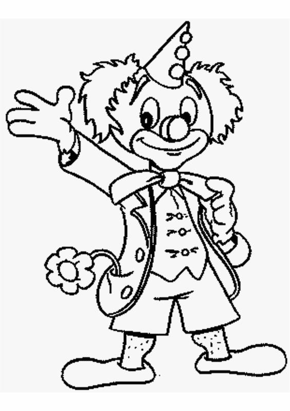 Coloriage le clown heureux crealoisirs - Coloriage clown a imprimer ...