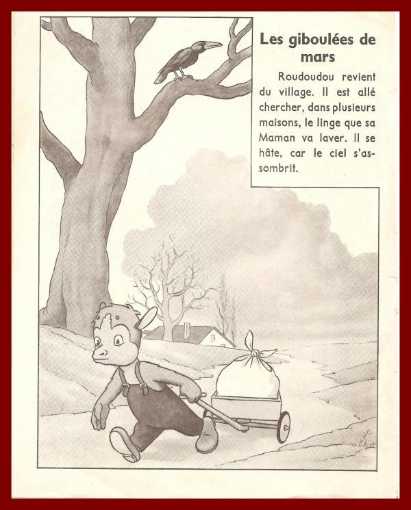 ROUDOUDOU ET LES GIBOULEES DE MARS  PAGE 1 / 11