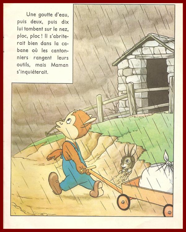 ROUDOUDOU ET LES GIBOULEES DE MARS  PAGE 2 / 11