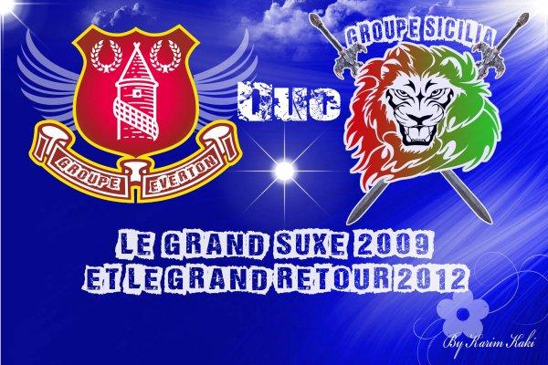 Groupe Sicilia & Groupe Everton / Groupe Sicilia & Groupe Everton ( Nti ya el wer9a  ) (2009)