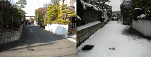 Il neige!  (Yuki da!)