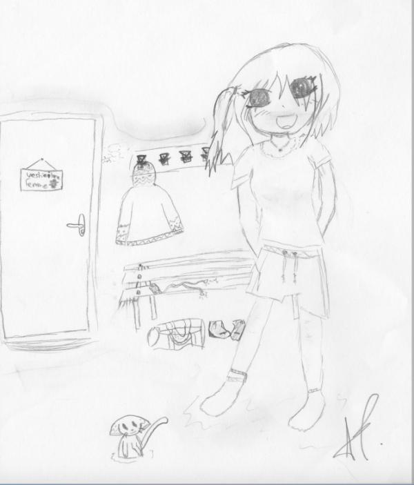 voila comment je dessine! ^^