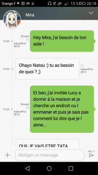 Fanfiction Fairy Tail: Quand l'amour s'immisce en toi...  Chapitre 11: A day under the sign of love