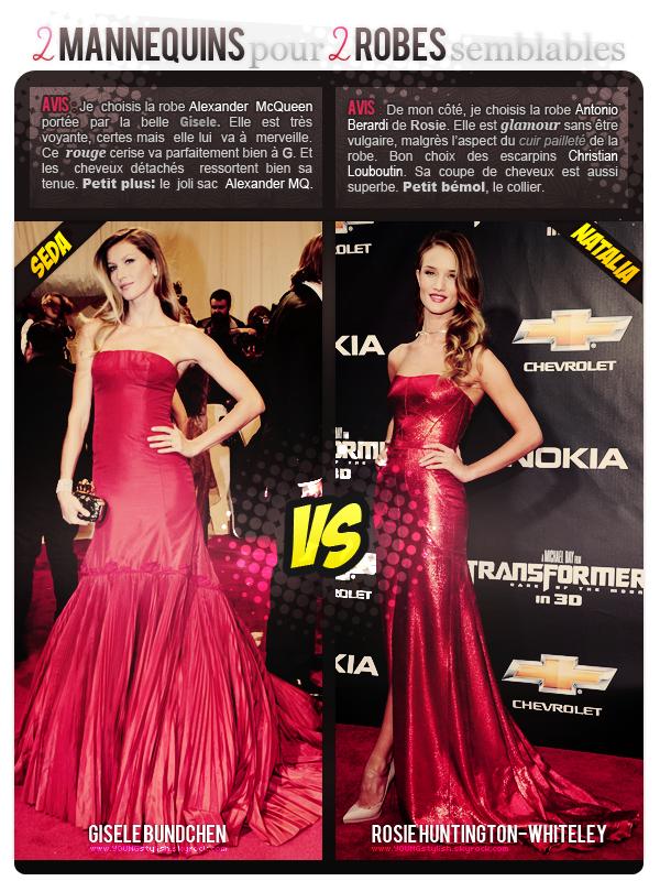 .  ♦  04  │  VS   Article posté le 31 août 2011 par Natalia.   ●   Gisele par Seda & Rosie par Natalia.