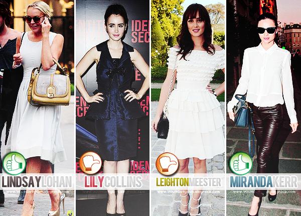 ♦  16  │  Fashion Marathon (toutes à Paris !)   Article fait par Natalia et posté le 8 octobre 2011.   ●