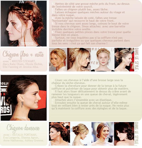 ♦  37  │  Des idées de coiffures pour le Nouvel An !   Article fait par Natalia  et posté le  26 décembre 2011.   ●