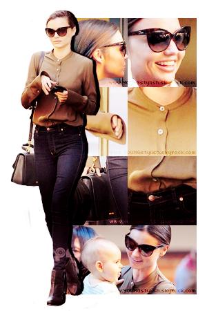 ♦  25  │  Look du jour ! (Miranda Kerr)   Article fait par Natalia et posté le  29 octobre 2011.   ●