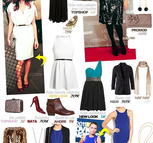 ♦  36  │  Des idées de tenues pour le Nouvel An !   Article fait par Natalia  et posté le  24 décembre 2011.   ●