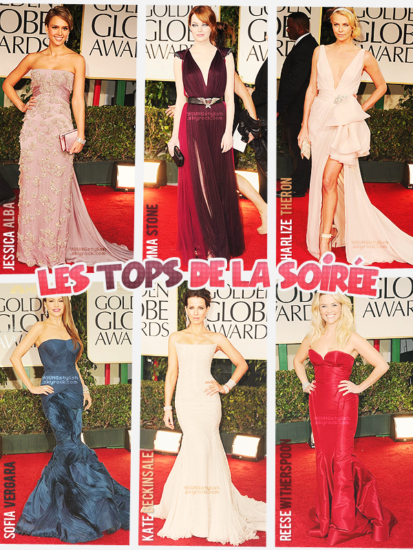 ♦  43  │  Events (Golden Globes 2012)   Article fait par Seda & Natalia  et posté le  23 janvier 2012.   ●