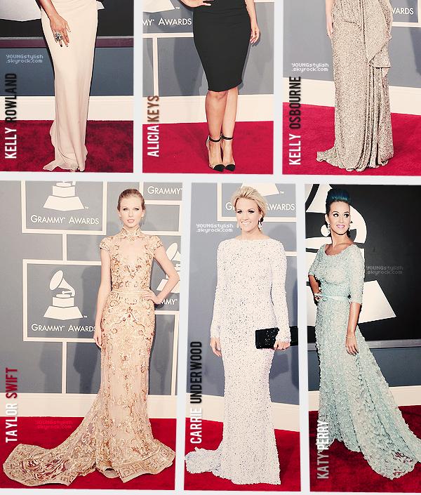 ♦  46  │  Events (Grammy Awards)   Article fait par Natalia et posté le 15 février 2012.   ●