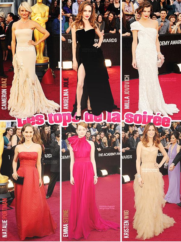 ♦  50  │  Events (Oscars 2012)   Article fait par Natalia & Seda et posté le 29 février 2012.   ●