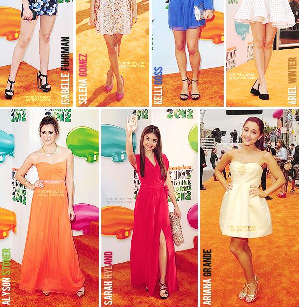 ♦  56  │  Events (Kids' Choice Awards 2012)   Article fait par Natalia et posté le 3 avril 2012.   ●