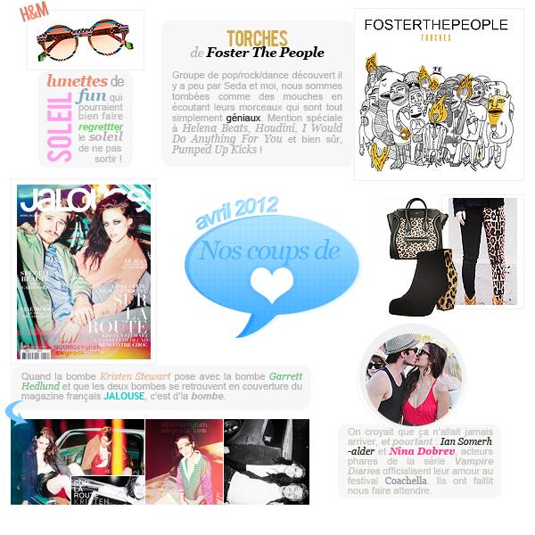 ♦  61  │  Coup de coeur du mois (avril 2012)   Article fait par Natalia et posté le 27 mai 2012.   ●