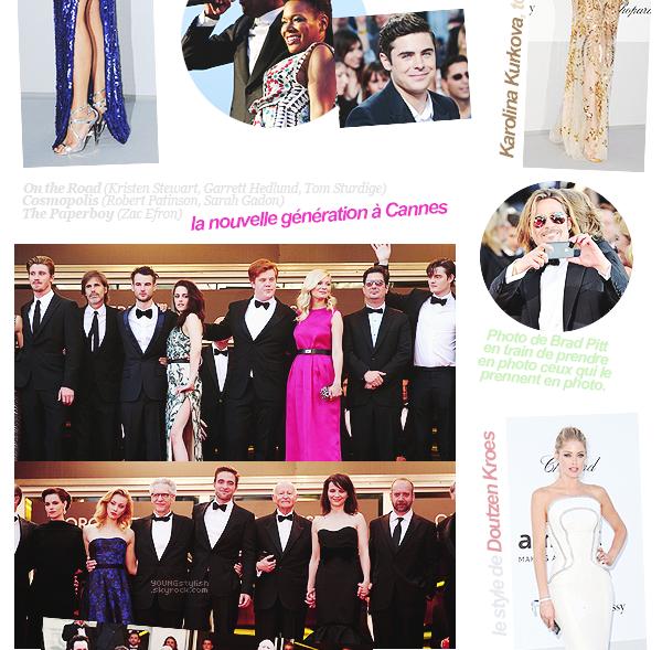 ♦  63  │  Festival de Cannes   Article fait par Natalia et posté le 16 mai 2012 / modifié le 10 juin 2012.   ●