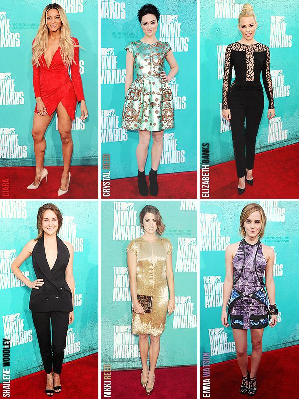 ♦  64  │  MTV Movie Awards 2012   Article fait par Seda et Natalia, posté le 11 juin 2012.   ●