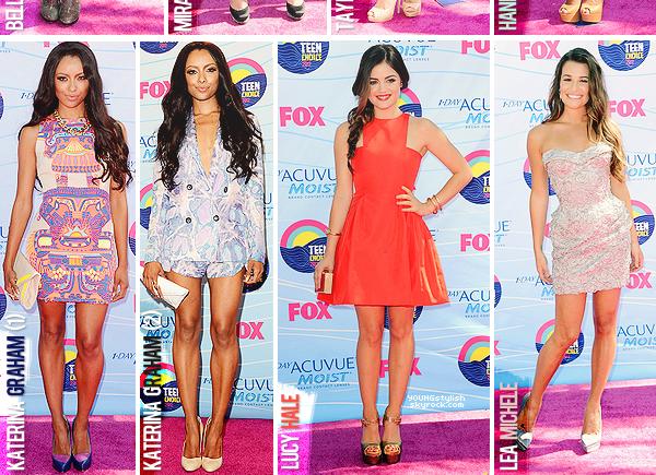 ♦  71  │  Teen Choice Awards 2012   Article fait par Natalia et Seda     posté le 25 juillet 2012.   ●