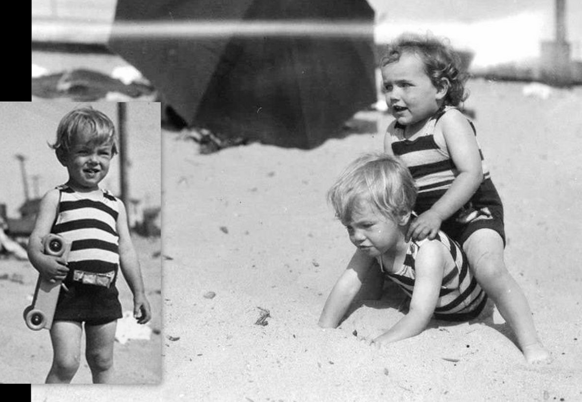 Marilyn MONROE naît le 1er juin 1926 à l'hôpital général de Los Angeles en Californie (voir certificat de naissance), sous le nom de Norma Jeane MORTENSON. Elle est cependant baptisée sous le nom de Norma Jeane BAKER. Son prénom est choisi par sa mère en référence à l'actrice Norma TALMADGE. Plus tard, Marilyn MONROE supprimera le « e » final de « Jeane ». Sur le certificat de naissance apparaissent les noms de sa mère, Gladys MONROE, et du mari de celle-ci à l'époque, Martin Edward MORTENSON (1897-1981), un Californien d'origine norvégienne. Le couple s'était marié le 11 octobre 1924 mais s'était séparé en mai 1925 (soit un an avant la naissance de Marilyn) ; MORTENSON obtient le divorce le 15 août 1928 pour « abandon de domicile ». Bien qu'elle soit une enfant légitime, Marilyn a toute sa vie nié le fait que MORTENSON soit son père. Lorsqu'elle était enfant, sa mère lui aurait montré une photographie d'un homme qui aurait été son père. Elle se souvient qu'il a une fine moustache et une certaine ressemblance avec Clark GABLE ; Pendant une très longue période, Gladys ne peut pas s'occuper de sa fille qui est confiée, entre autres, à des familles d'accueil. Marilyn préfère prétendre longtemps que sa mère est morte, plutôt que d'avouer qu'elle vit dans un institut spécialisé.