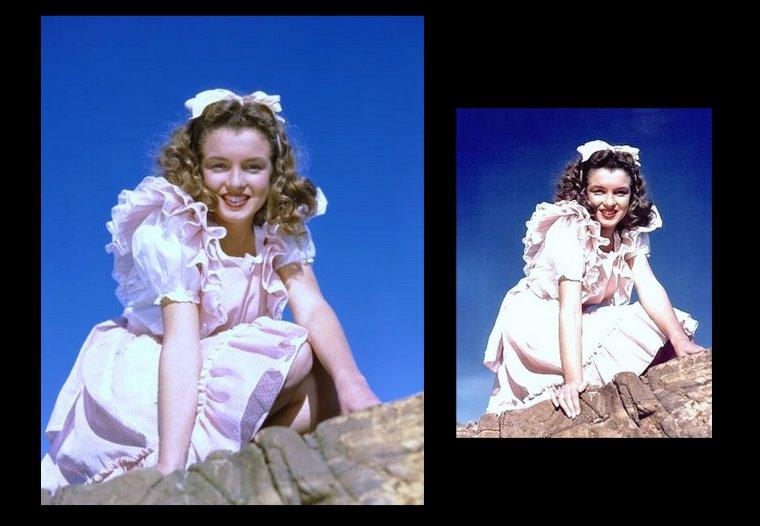 André De DIENES, mémoires. Ces mémoires racontent une magnifique histoire d'amour et d'amitié, du point de vue d'un homme qui a côtoyé Marilyn au plus près. De DIENES décrit la manière dont Norma Jean s'est transformée en Marilyn MONROE — la mue d'une jeune fille sensible mais ambitieuse en star mondiale profondément perturbée — de l'intérieur, et donne à voir une facette jusqu'alors mal connue de Marilyn.