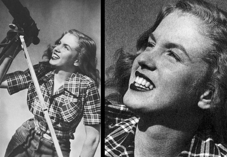 Norma Jeane, session funny au téléscope (Joseph JASGUR 1946) (part 4).